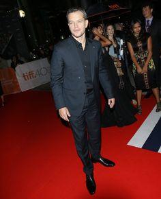 Pin for Later: Sorry New York – glamouröse Kleider gibt's auch in Toronto! Matt Damon