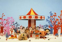 Ahh The Magic Roundabout. I could've sat curled up on the sofa all day watching that. 5 mins was never enough!