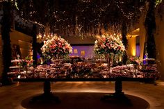 decoração casamento cor de rosa