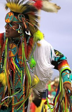 Wonderful image of a Lakota Dancer~ Fancy dancer, my fav