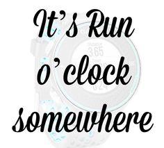 #RunOClock
