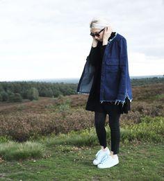 Minimalismus, Heide, Ausflug, Turtleneck, Cashmere. Asos, Denim, Zara, Adidas, Superstar, Ray Ban Wayfarer, Look, lotd, ootd, Outfit, minimal, Design, casual, Fashion, Blog, stryleTZ