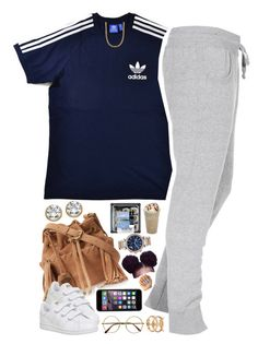 """No. 673"" by thugpassionnn ❤ liked on Polyvore featuring Forever 21, Juicy Couture, adidas Originals, Boulezar, adidas, Palm Beach Jewelry, Retrò and MICHAEL Michael Kors"