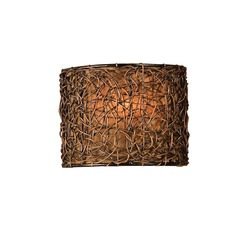 Uttermost Naturals Knotted Rattan 1 Light Wall Sconce in Wall Lights, Wall Sconces: LightsOnline.com
