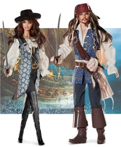 Jack sparrow & Angelica Barbies - I have the Jack Sparrow in my collection. The detail is amazing!
