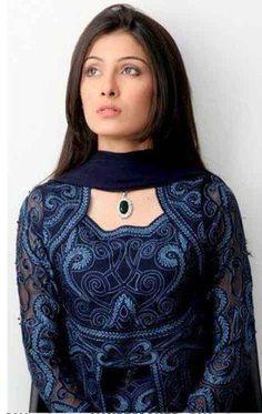Ayeza Khan Fashion Hub, Fashion Photo, New Fashion, Ladies Kurti Design, Bridal Dresses 2015, Stylish Kurtis, Ayeza Khan, Cute Actors, Pakistani Actress