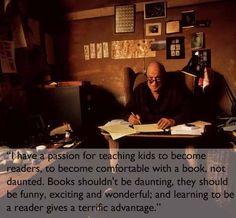 Reading Roald Dahl, you felt like you were in on the best secret in the world.