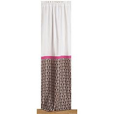 @Overstock - Renew your home decor with a new curtain panel  Window treatment showcases a damask pattern in pink and chocolate  Curtain is the perfect addition to any room  http://www.overstock.com/Baby/Bacati-Pink-and-Chocolate-Damask-Curtain-Panel-42-in.-x-84-in./4348741/product.html?CID=214117 $29.49