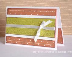 Cartão artesanal com bolso #PAP #DIY #Tutorial #papercraft #cardmaking