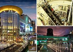 Siam Paragon- shopping mall in Bangkok, Thailand is one of the biggest shopping centers in Asia.