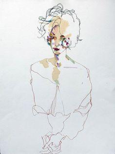 Howard Tangye est un artiste d'origine australienne, basé à Londres. Il est connu pour ses oeuvres figuratives mêlant tons pastels, encre de Chine et aquarelle, mais pas seulement. Il a étudié à Central Saint Martins College of Art and design de Londres et à Parsons à New York et a enseigné à Central Saint Martins pendant des décennies. Parmi ses élèves, qui sont devenus plus tard des collaborateurs et clients, on compte notamment John Galliano, Alexander McQueen, Zach Posen ou encore Stella…