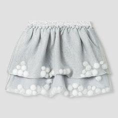 Toddler Girls' Tutu Skirt Masonry Gray - Cat & Jack™