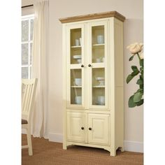 Westbury Painted Glazed Display Unit (J824) with Free Delivery   The Cotswold Company - WPM91