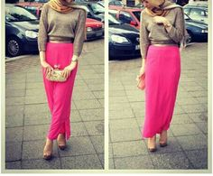 The New Scarf Style for the Hijab #scarf #hijabfashion #hijab2016 #hijabstyles #howtowearhijab