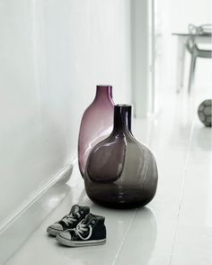 Coloured glass is back in all shapes and forms.