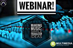 Expand your production ideas to make better music! Latest Music, Multimedia, Wednesday, Channel, Join, Presents, Technology, Cat, Live