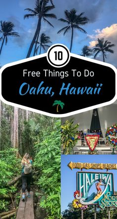 Visiting Hawaii isn't cheap, especially if you've traveled for hours on end. We decided to help the endured traveler with some great things you can visit/do on Oahu that's simply …
