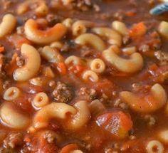 Mercado's Life Lessons: Beef and Macaroni Soup