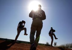 As far as we're concerned, spring started when pitchers and catchers reported