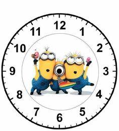 Wooden Clock Plans, Clock Face Printable, Clock Template, Maths Display, Handmade Clocks, Verses For Cards, Clock Faces, Diy Clock, Decoupage Paper