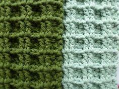 Karin on the hook: Crochet Waffles for the Confluence of Hope. Crochet Potholders, Crochet Yarn, Crochet Stitches, Crochet Patterns, Crochet Waffle Stitch, Crochet World, Yarn Crafts, Basket Weaving, Crochet Projects