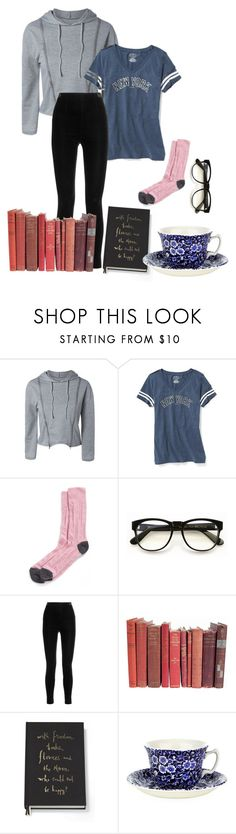 """Go back to bed"" by loisanne ❤ liked on Polyvore featuring Old Navy, Nordstrom, Wildfox, Balmain, Kate Spade and Burleigh"