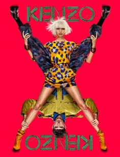 Kenzo 2013 Spring Summer Collection by Jean-Paul Goude