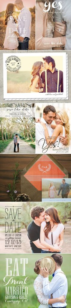 17 Cute Photo Save-the-date Ideas