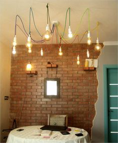 36 best fabric cable big chandeliers images on pinterest big big rainbow chandelier with twelve textile cable of various rainbow chandelier funnychandelier aloadofball Choice Image
