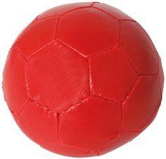 Softball rot für sport und Spiel weich für drinnen und draußen 101345