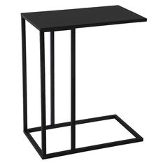 Orren Ellis Mono End Table Colour: Black C Table, Chair Side Table, Side Tables, Chair Bed, Side Coffee Table, Coffee Tables For Sale, Modern Contemporary Homes, All Modern, Living Room Arrangements