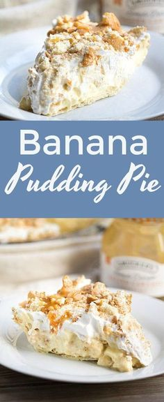 Ever Banana Pudding PieBest Ever Banana Pudding Pie Banana Pudding Pie w/ recipe below Banana Pudding Pie - this if the best of both worlds. Banana pudding and banana cream pie. a no bake banana pudding dessert More Easy Banana Cream Pie . Banana Pudding Desserts, Banana Pudding Poke Cake, Best Banana Pudding, Banana Dessert Recipes, Keto Pudding, Avocado Pudding, No Bake Desserts, Easy Desserts, Delicious Desserts
