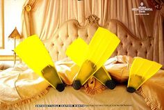 """FINS"" Print Ad for Hotel by Insight Advertising (hotel ad)"
