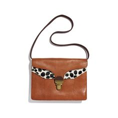 Lovelock Clutch in calf hair... this would go perfect with my polka dot pants! matching print