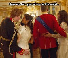 Two types of men...