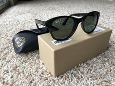 f3d73f17e2 Ray-Ban Womens Polarized Sunglasses RB 4203  fashion  clothing  shoes   accessories