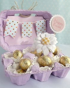 30 Fantastic Easter Gifts for Adults - Get Creative with Some Easter Crafts for Adults Hoppy Easter, Easter Bunny, Easter Eggs, Easter Table, Easter Gift For Adults, Egg Carton Crafts, Easter Projects, Easter Party, Easter Treats