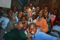 """""""Karoline Aadland interned in Nairobi, Kenya! Click the photo to find out about more exchange stories from AIESEC Norway! Volunteers Around The World, Nairobi, Kenya, Norway, How To Find Out, Around The Worlds, In This Moment"""