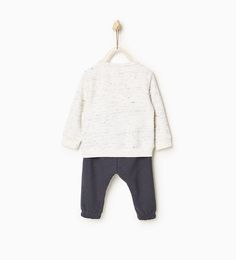 ZARA - KIDS - Star plush outfit
