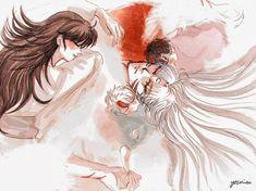 Seshomaru Y Rin, Inuyasha And Sesshomaru, Fanart, Manga Anime, Naruto, Shooting Stars, Princess, Fictional Characters, Ship