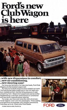 1970 Ford Club Wagon