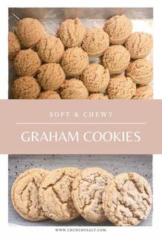 Cookie Desserts, Just Desserts, Cookie Recipes, Delicious Desserts, Dessert Recipes, Yummy Food, Graham Cracker Cookies, Graham Crackers, Graham Cracker Recipes