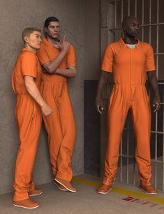 Description: Prison Clothes for Genesis 2 Male(s) Info Url: Prison Outfit, Genesis 2, Overalls, Jumpsuit, Mens Fashion, Boys, Clothes, Outfits, Prisoner
