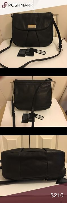 Marc by Marc Jacobs crossbody bag Authentic Marc by Marc Jacobs leather crossbody bag with gold hardware. BNWT. Never used. Measures 12 x 10.5 x 4.5 inches. Marc by Marc Jacobs Bags Crossbody Bags