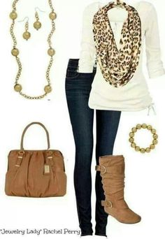Perfect weekend winter outfit.