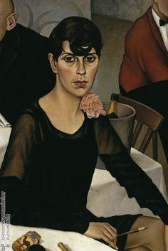 Sonja, 1928 // Christian Schad