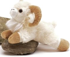 This guy is adorable! Ram Handfuls Stuffed Animal by Unipak Designs