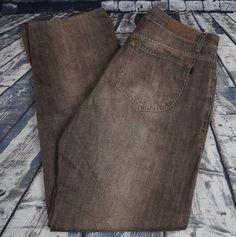 Zegna Sport Men's 301 Jeans Denim Project Straight Leg Black Gray Wash 34 x 33 #ZegnaSport #ClassicStraightLeg