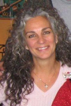 Groovy Gray Hair Curly Gray Hair And Long Gray Hair On Pinterest Short Hairstyles Gunalazisus