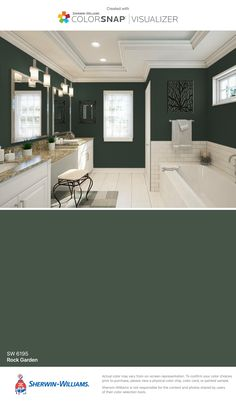 17 The Secret Details Regarding Master Bedroom Paint Colors 2018 Sherwin Williams That Some People 1 Bathroom Paint Colors, Interior Paint Colors, Paint Colors For Home, House Colors, Interior Design, Blue Paint Colors, Pottery Barn Paint Colors, Small Bathroom Paint, Bathroom Gray